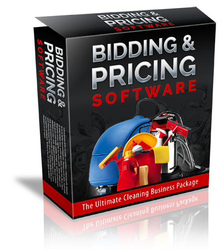 Janitorial Bidding Pricing Software