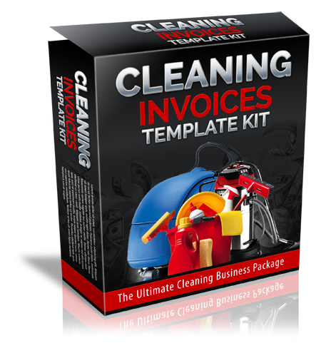 Cleaning Invoices Templates