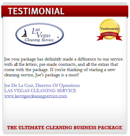 how to start a cleaning service business