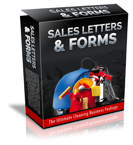 Cleaning Business Sales Letters & Forms